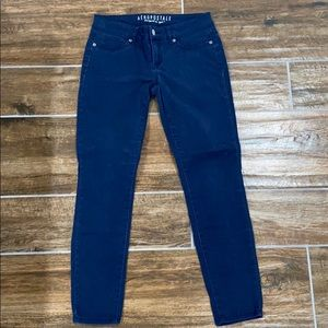 Skinny chino jeggings - Navy blue size 2 short
